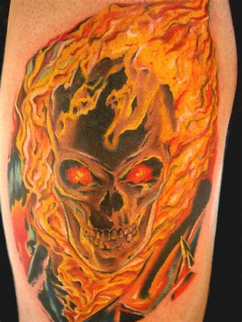 ghost rider tattoo designs ghost rider tattoos ink