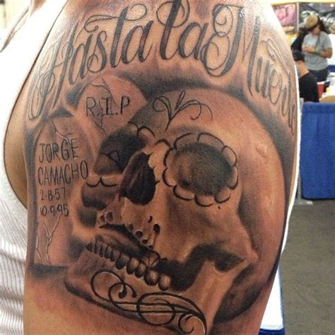 cool skull tattoos for men outstanding skull on shoulder for cool