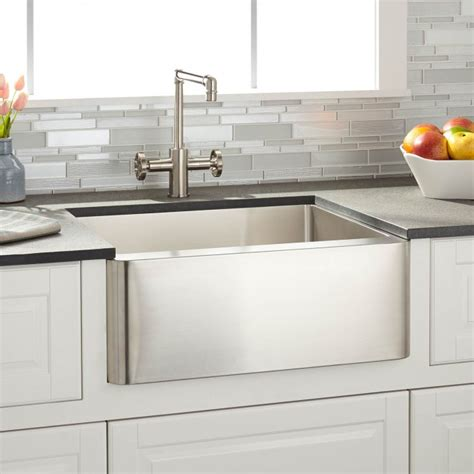 22 Quot Executive Zero Radius Stainless Steel Curved Basin Trough Sink Kitchen