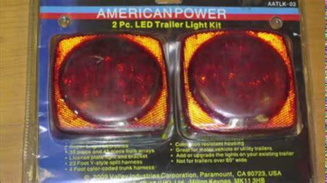 boat trailer tail lights dont work popular led trailer lights from red tail brake marker