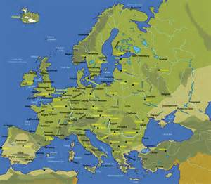 European Cities Map by Pics Photos Europe Map Cities Map Of Europe European