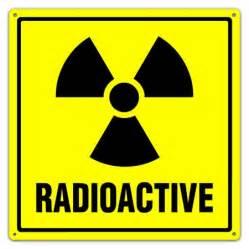 Rustic Mugs Radioactive Symbol Sign With Text Radioactive Utility