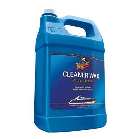 boat cleaner wax review meguiar s 50 one step boat rv cleaner wax merritt