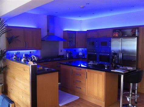 Blue Led Kitchen Lights Electrical Lighting Design Installation