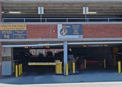 baltimore italy garage baltimore parking find
