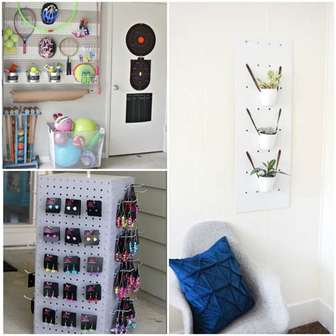 cool pegboard ideas 16 creative ways to organize with pegboards