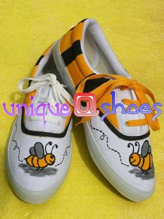 Cat Lukis Sepatu Kanvas unique shoes sepatu kanvas lukis terbaru
