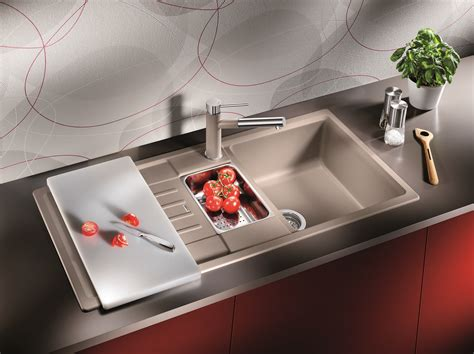 decorating brilliant blanco sinks  kitchen furniture