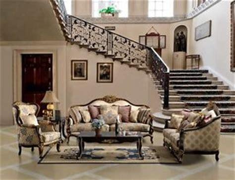 Zacharie 3pc Living Room Set Vintage Look Formal Antique Luxury Sofa Seat 2 Pc Living Room