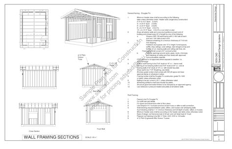 garage building plans g443 14 x 20 x 10 garage plans blueprints downloadable