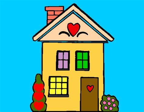 desenho de casas desenho de casa cora 199 195 o pintado e colorido por thiti o dia