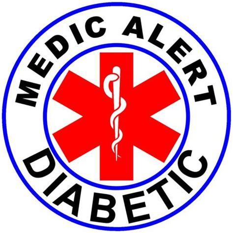diabetic alert square alert medic alert diabetic temp alert id