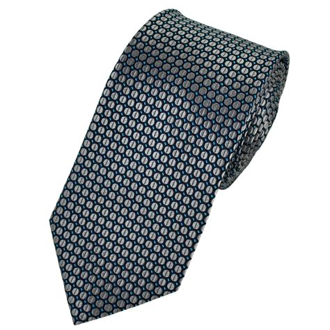 blue patterned ties navy blue silver turquoise patterned silk tie from ties