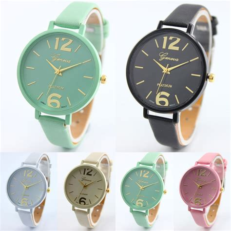 Jam Wanita Fashion jam tangan wanita fashion korea geneva tali kecil elevenia
