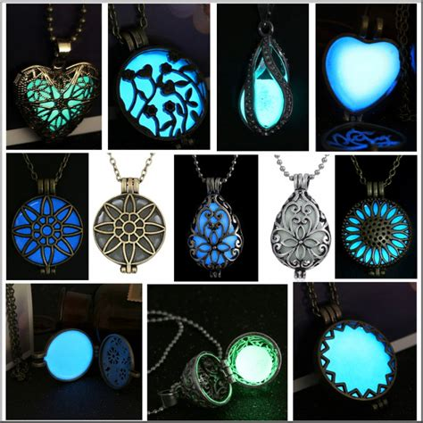 how to make glow in the jewelry glowing steunk magic locket vase oval glow in the