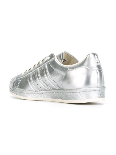 adidas originals superstar sneaker adidas originals superstar 80s sneakers in metallic lyst