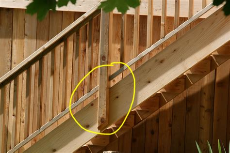 Banister Attachment by Your Deck Company May Is Deck Safety Month