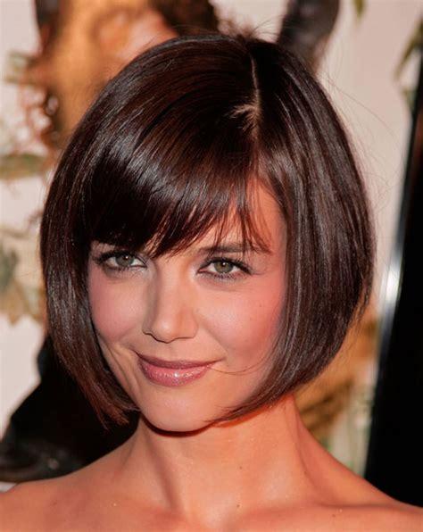 short bob hairstyles katie holmes hairography