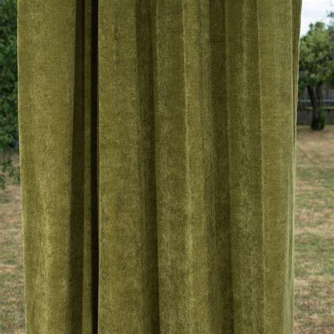 vorhang grün blickdicht vorh 228 nge olivgr 252 n m 246 belideen