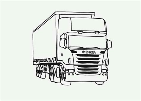 coloring pages tractor trailer tractor trailer coloring pages