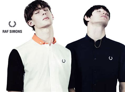 raf simons x fred perry summer 2010 collection highsnobiety