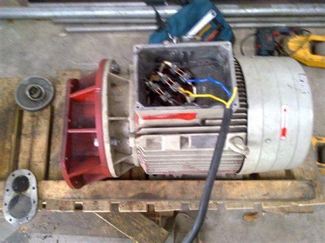 bagian   kerja motor induksi rekayasa listrik