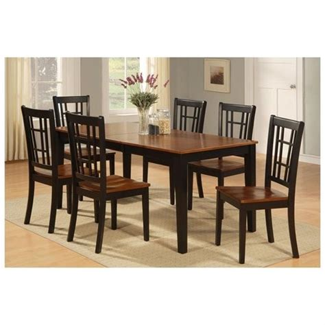 dining room 7pc dining set formal dining table chairs 7 piece formal dining room set dining room table and 6