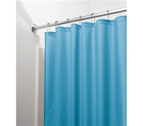 dorm shower curtain college decor item waterproof shower curtain azure