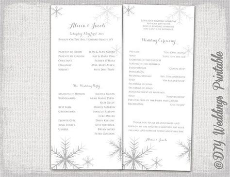 17 Best Ideas About Winter Wedding Programs On Pinterest Wedding Planning Checklist Fun Winter Program Template
