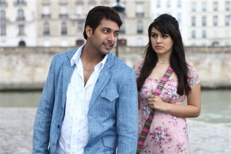 jayam cinema heroine photos engeyum kadhal movie stills photos jayam ravi hansika