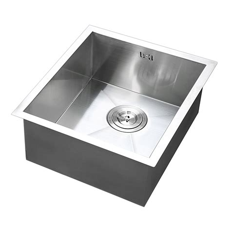 Commercial Stainless Steel Kitchen Sink 17 Quot X17 Quot Commercial Stainless Steel Kitchen Sink Basin Single Bowl 19 Ebay