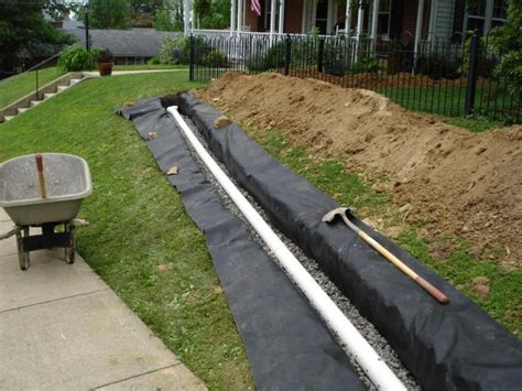 drainage system for backyard avoid these problems by installing exterior drainage in