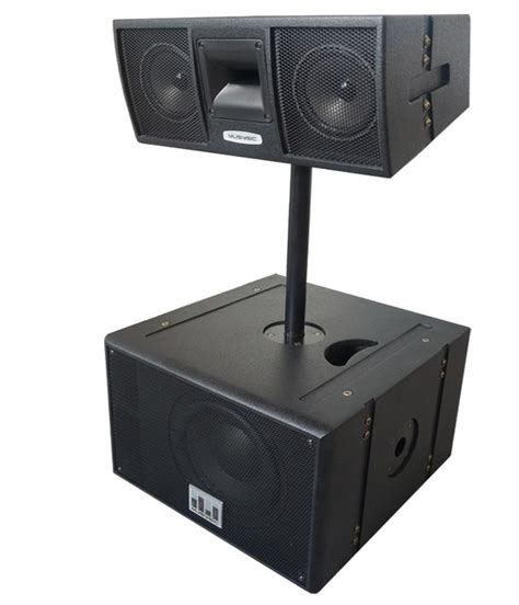 Jbl Jembe 2x6 W Rms Speaker musysic professional line array active 2000w 10 quot base with