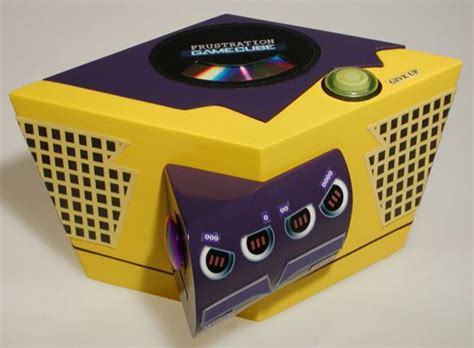 new gamecube console gamecube redesigned to purposely be a in the