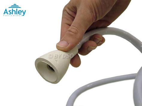 ashley housewares bath shower head and hose with rubber