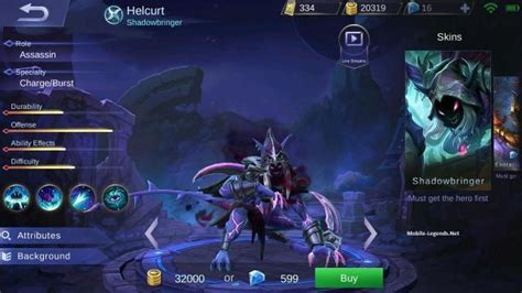 mobile legends new 2018 helcurt features 2019 mobile legends