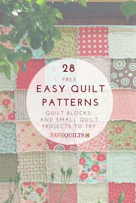25 Best Ideas About Small Quilt Projects On - free beginner quilt patterns ballkleiderat decoration