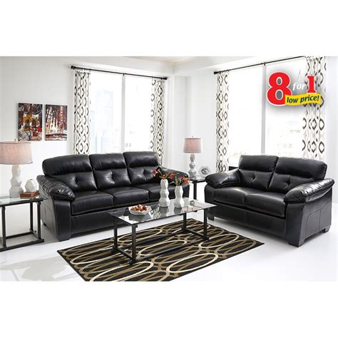 living room appliances rent to own ashley bastrop living room set in black