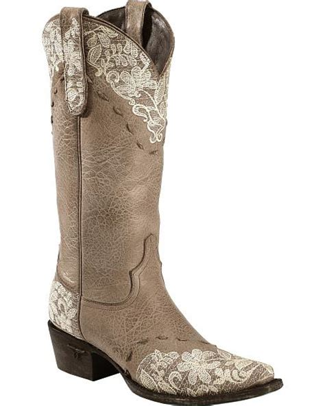schuhe ivory spitze jeni lace embroidered boots snip toe sheplers