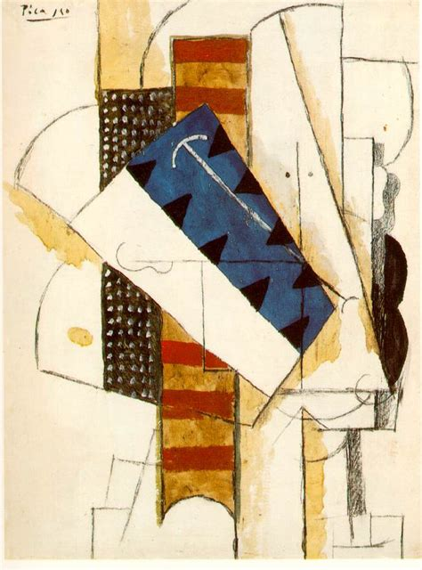 Picasso Synthetischer Kubismus by Of A 1913 Pablo Picasso Wikiart Org