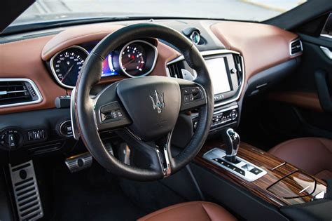 maserati ghibli brown interior review 2016 maserati ghibli s q4 canadian auto review