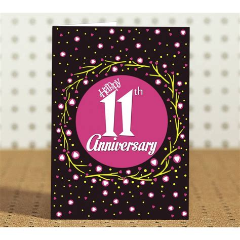 Wedding Anniversary Gift Year 11 by 11th Wedding Anniversary Gift Gift Ftempo