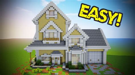 minecraft suburban house tutorial minecraft suburban house tutorial minecraft house youtube