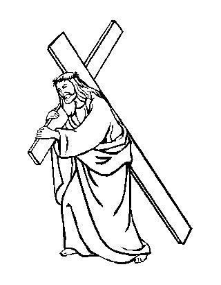 Desenhos Biblicos de Jesus para Colorir - Desenhos Para