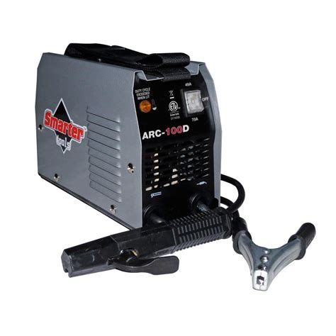 smarter tools 120 volt 100 ac stick welder arc 100d