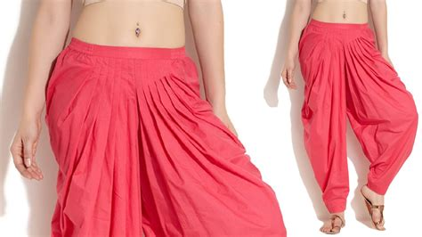 dress design and cutting patiyala pant cutting with measurements in telugu youtube