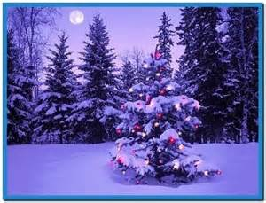 christmas tree snow screensaver download free