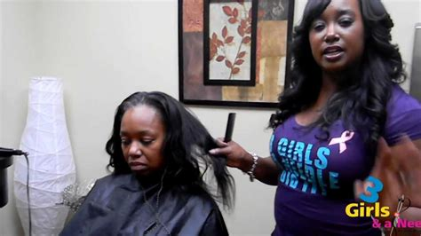 how to do the jennie mae sew in 3 girls and a needle jennie mae braidless sew in procedure