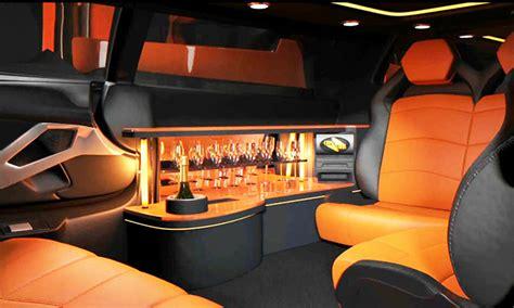 limousine lamborghini inside lamborghini aventador limo