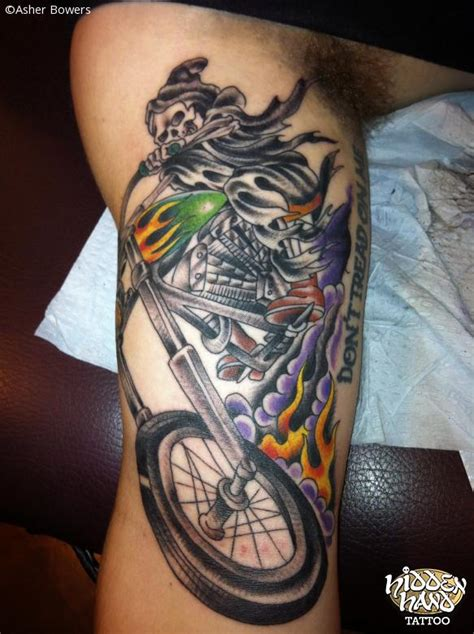 biker tattoos hidden hand tattoo seattle wa